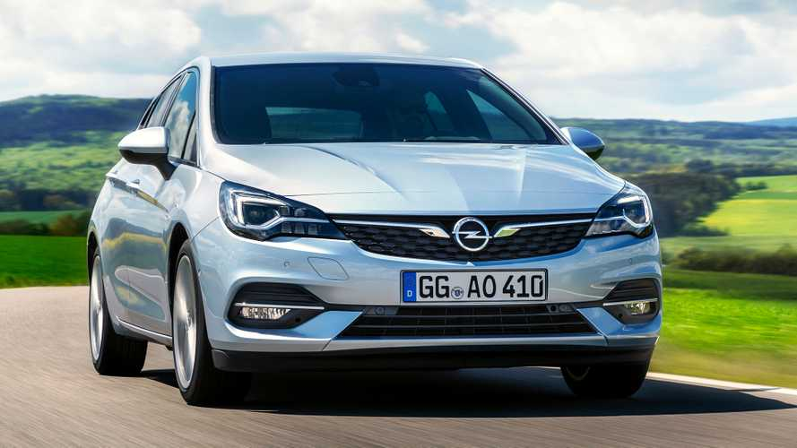 Opel Astra restylée (2019)