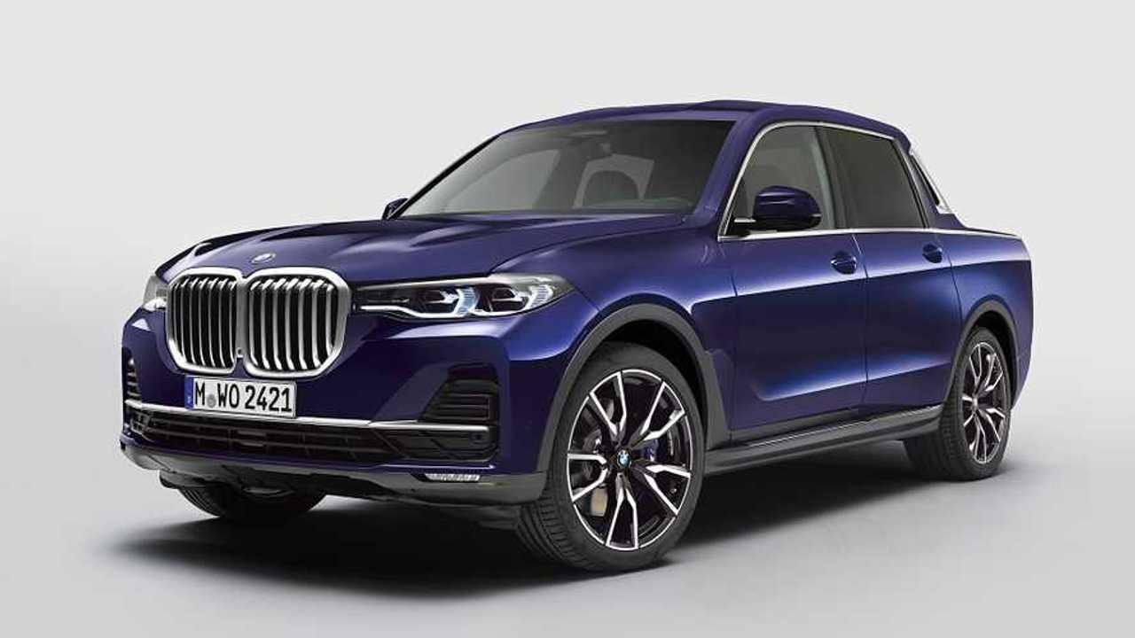 Herr im Himmel, BMW hat einen X7 Pickup gebaut