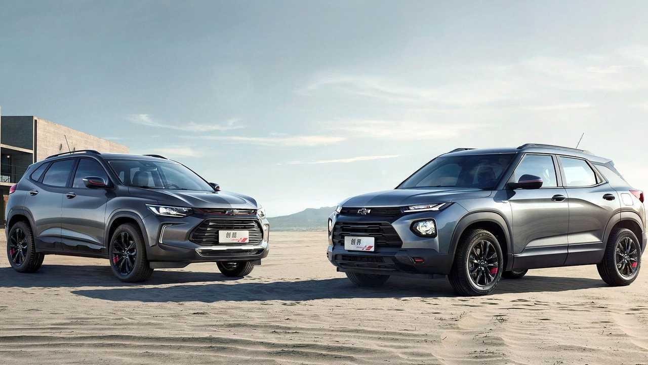 Chevrolet Trailblazer and Tracker Debut at Auto Shanghai 2019