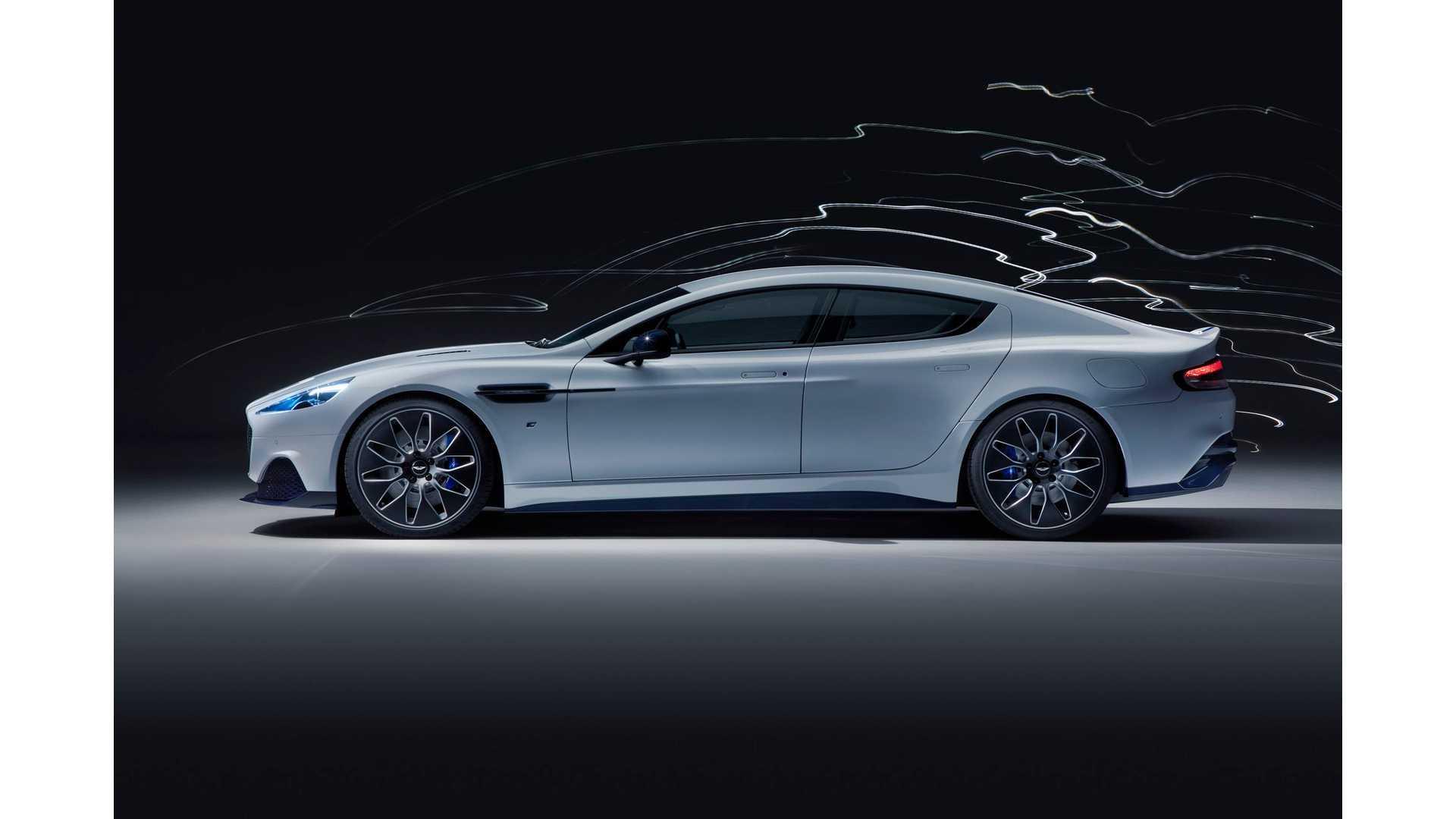Aston Martin Rapide E Debuts At 2019 Shanghai Auto Show Video Motor1 Com Bilder