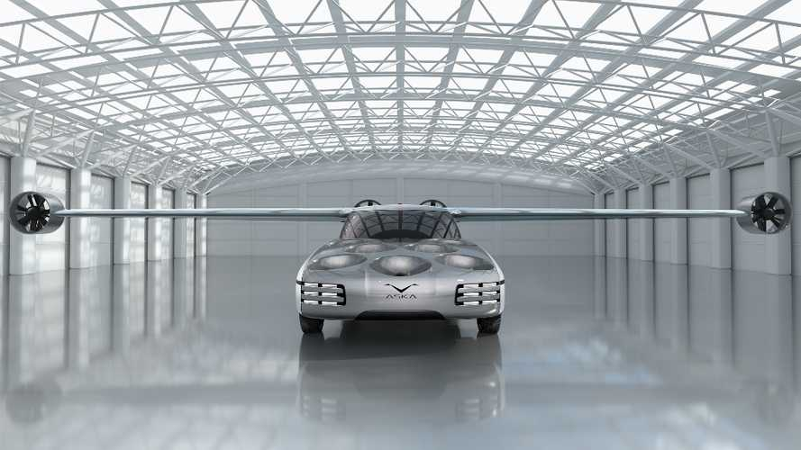 Aska Concept Hybrid Flying Car Takes Off And Lands Like A Helicopter