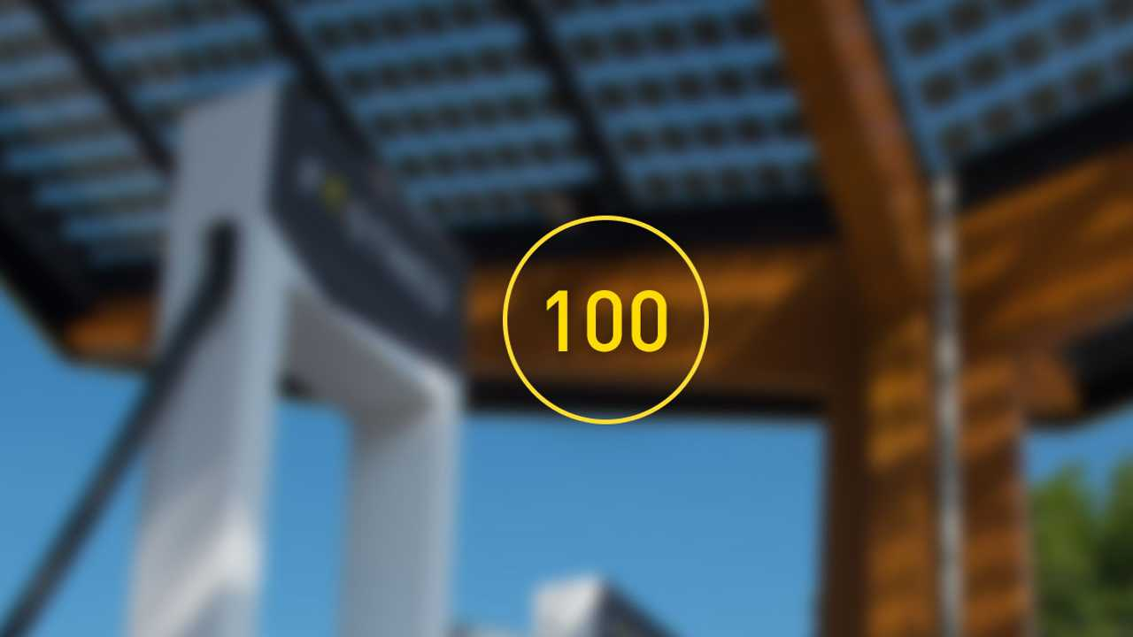 Fastned 100th fast charging station