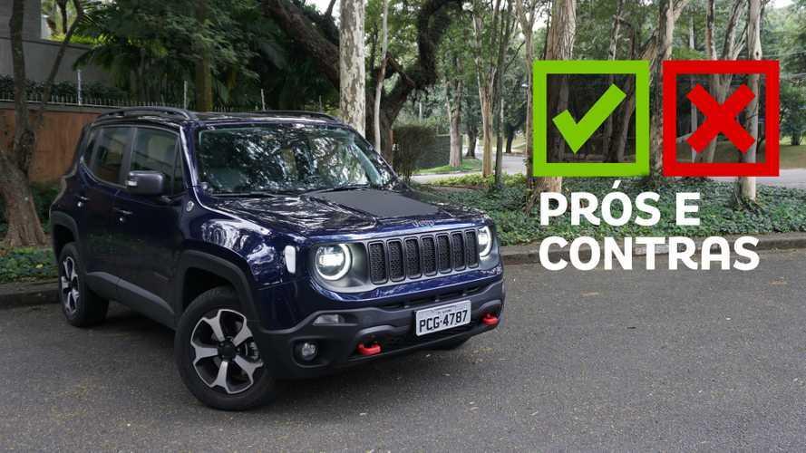 Jeep Renegade Trailhawk - Prós e Contras