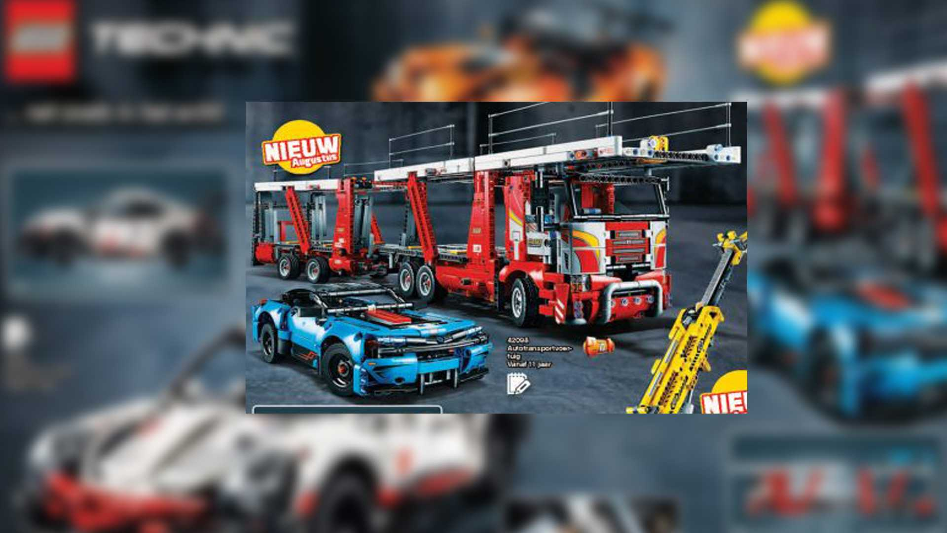 New Lego Technic Sets 2020 New Lego Porsche 911, Car Carrier And Technic Kits Coming Soon