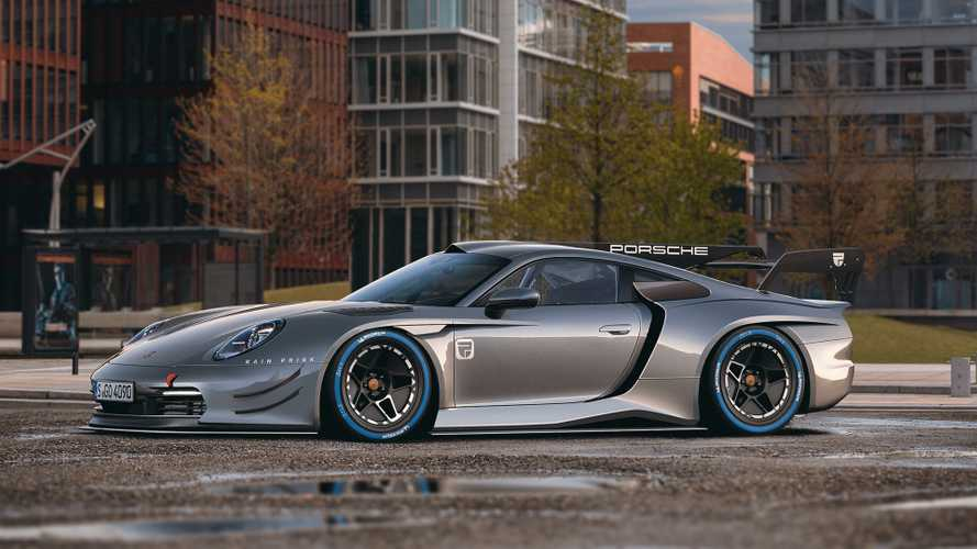 New Porsche 911 gets epic GT1 treatment in beautiful rendering