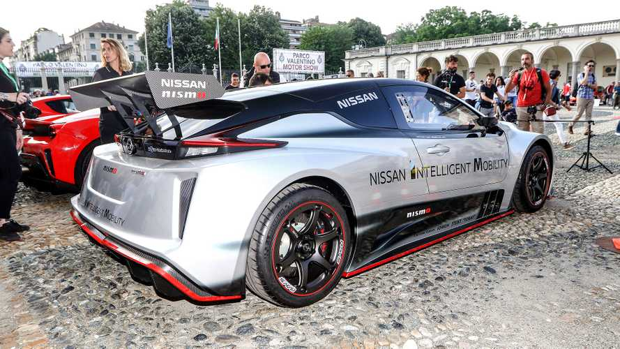 Nissan Leaf Nismo RC a Parco Valentino 2019