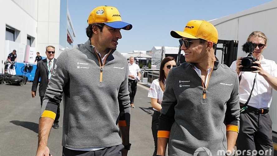 McLaren anuncia que Sainz y Norris seguirán en 2020