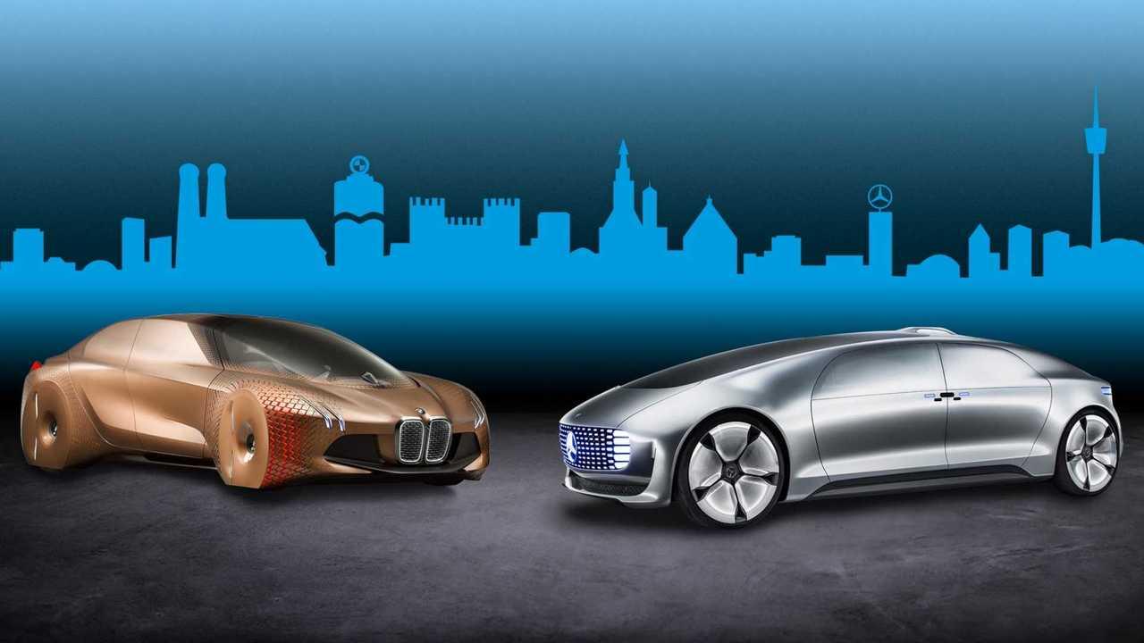 BMW e Mercedes-Benz (autônomos)