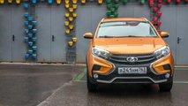 Российский тест Lada XRAY Cross