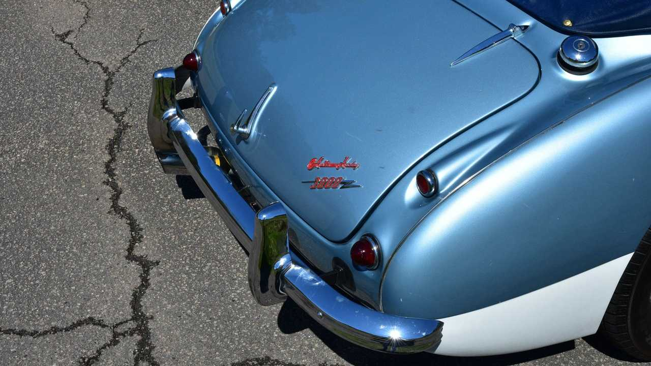 Spotless 1963 Austin-Healey 3000 Dresses To Impress
