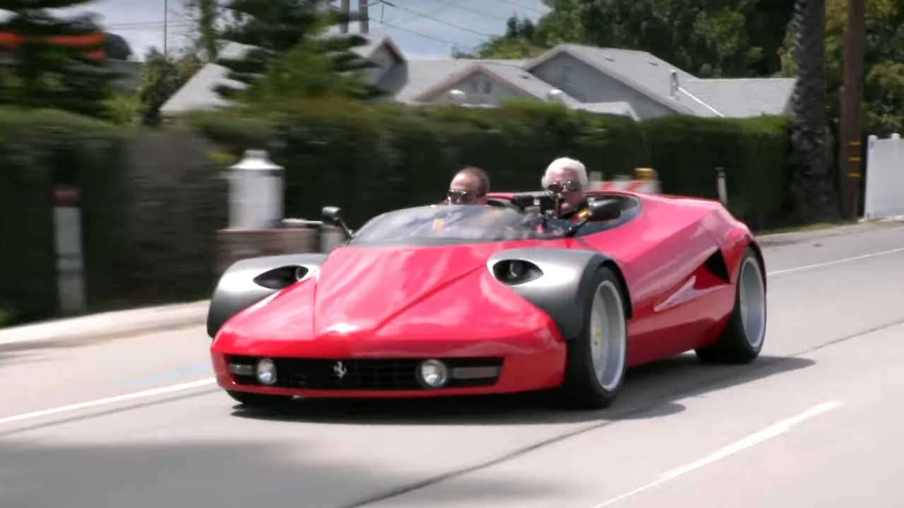 Video: One-Off 1933 Ferrari Conciso On Jay Leno's Garage