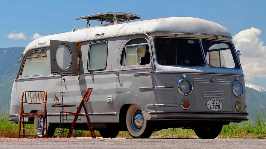 Buy this Porsche-powered vintage motorhome