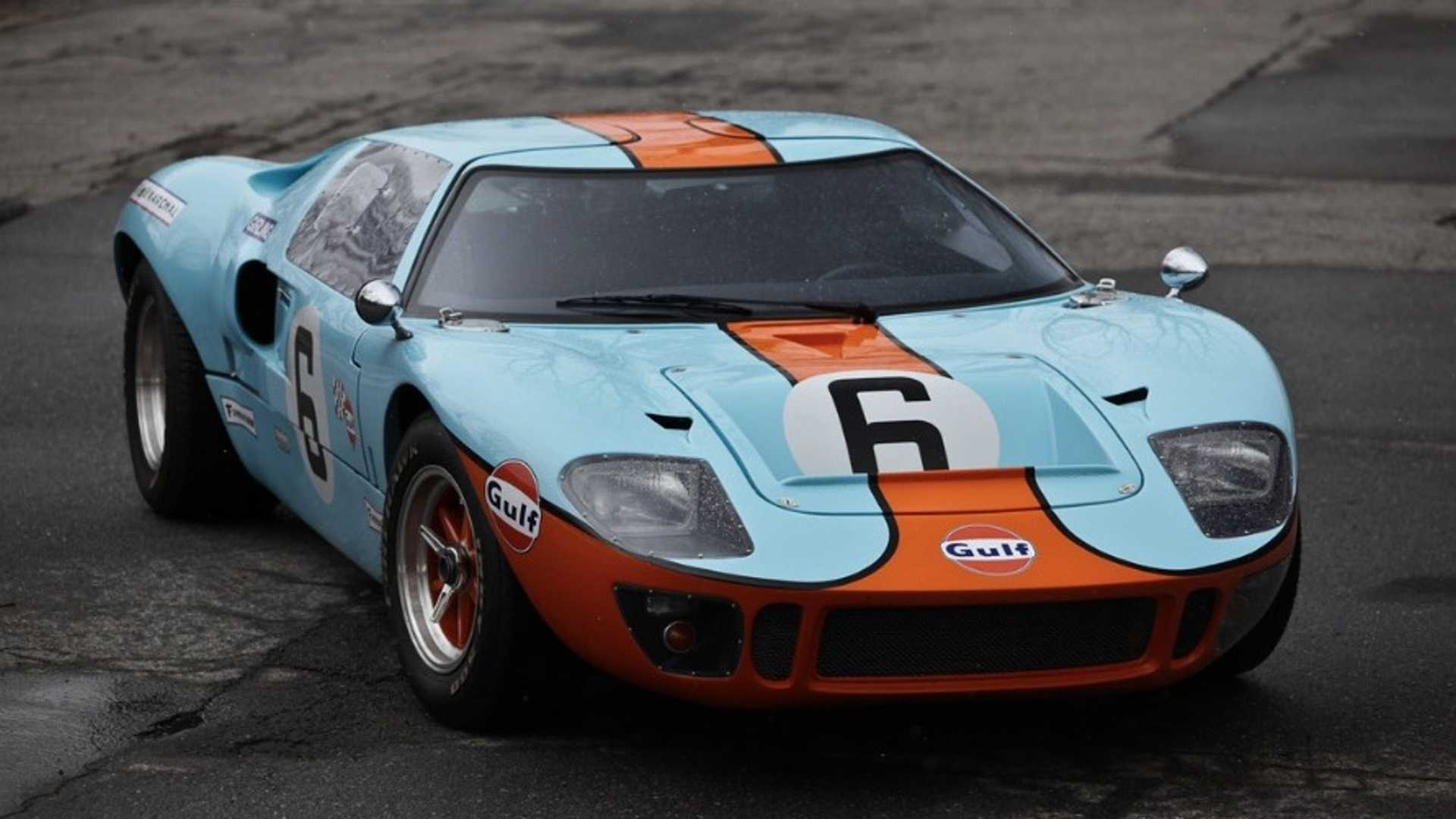 "[""A Masterful Recreation: 1965 Ford GT40 Mk1""]"