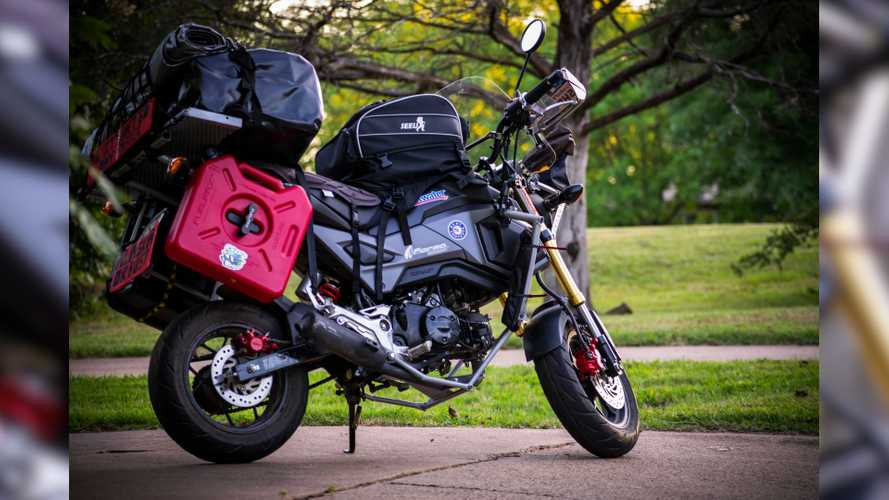 Riding A Grom From Alaska To Argentina: Crazy Or Amazing?