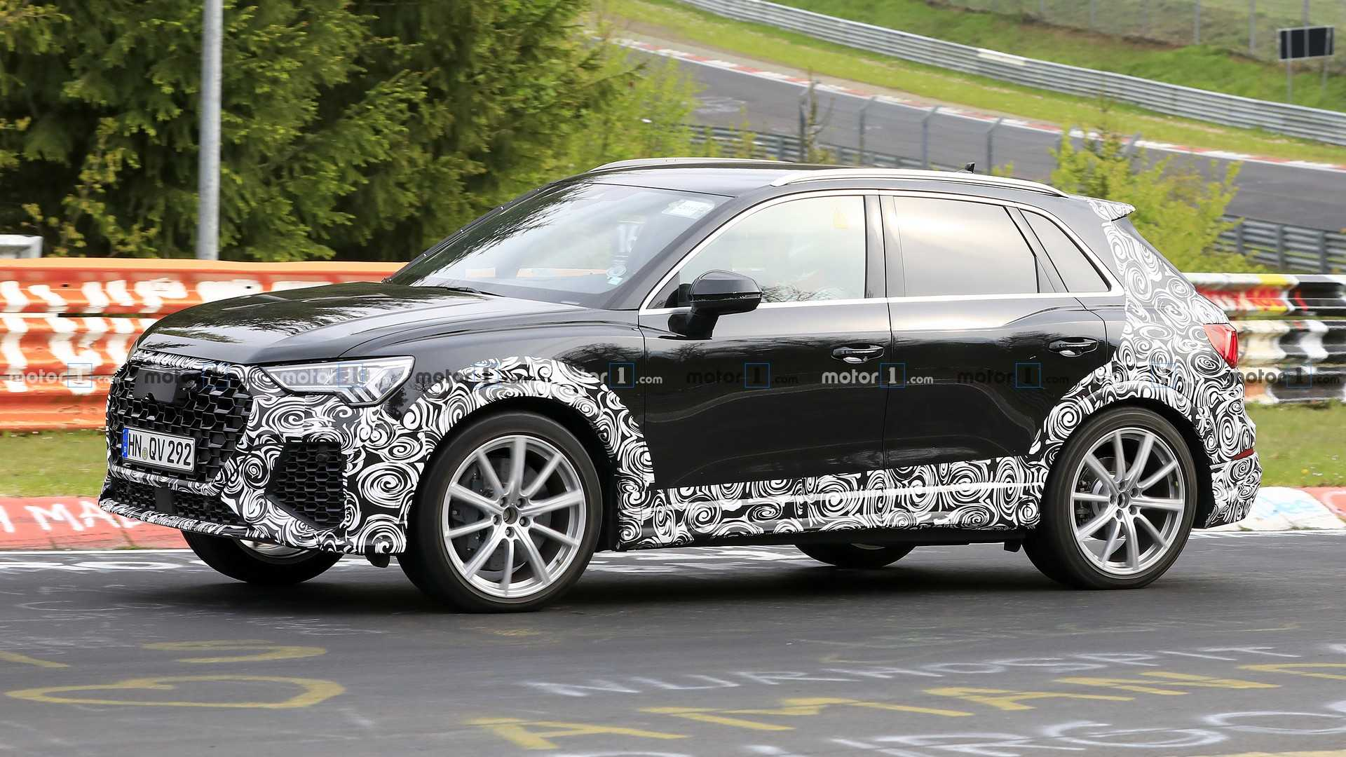 2020 Audi Q3: News, RS Q3, Specs, Release >> 2020 Audi Rs Q3 Spotted With Wide Body At The Nurburgring