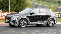audi rs q3 crossover spied