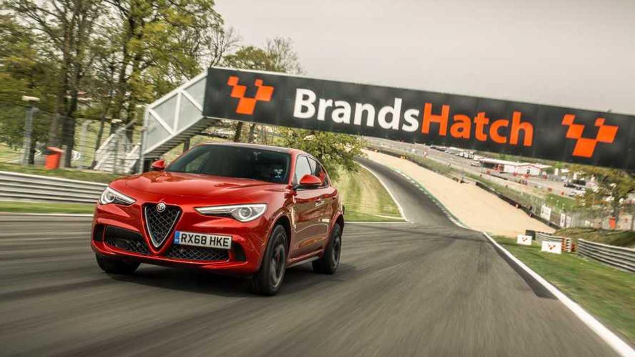 3 record in pista per l'Alfa Romeo Stelvio Quadrifoglio