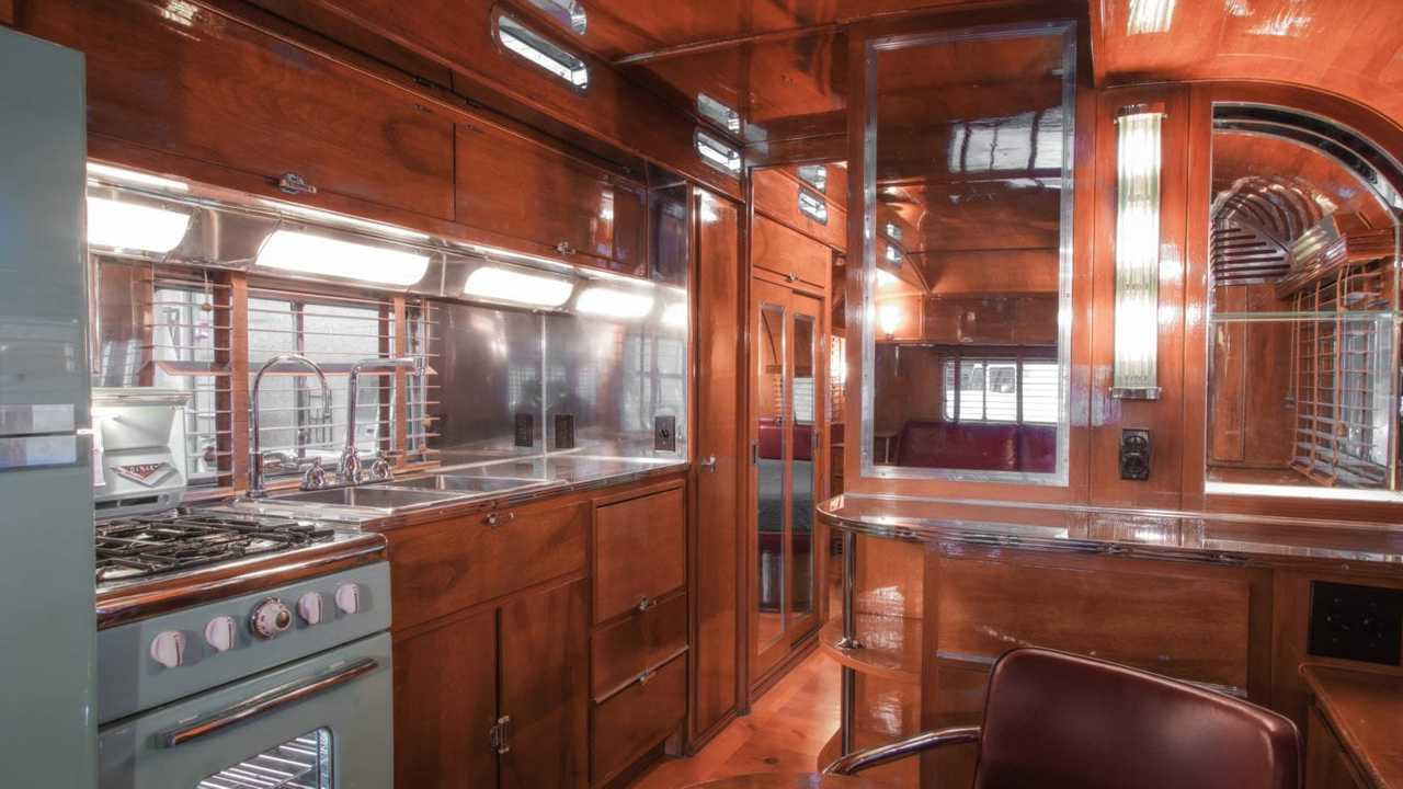 Hook Up To This Vintage Art Deco Travel Trailer For $975K