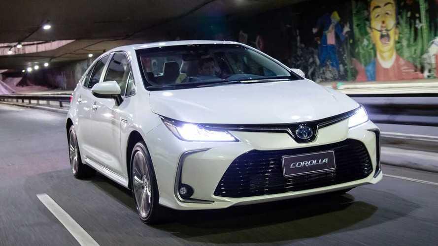 Sedãs médios mais vendidos: Toyota Corolla tem pior começo de ano desde 2014