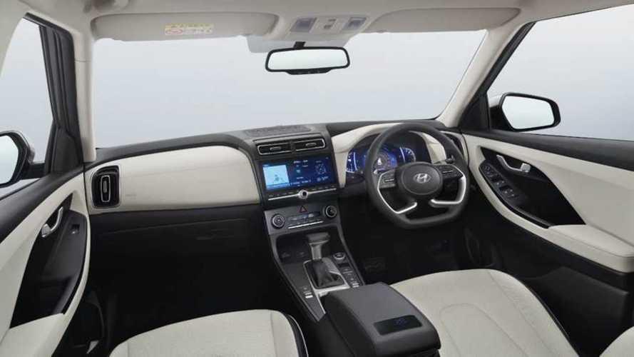 Novo Hyundai Creta mostra painel que deverá ter no Brasil em 2021