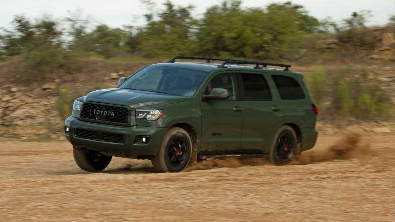 2. Toyota Sequoia