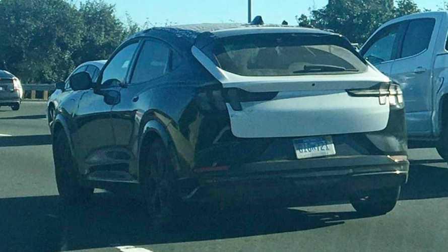 Flagra: Ford Mustang Mach-E já roda sem qualquer disfarce