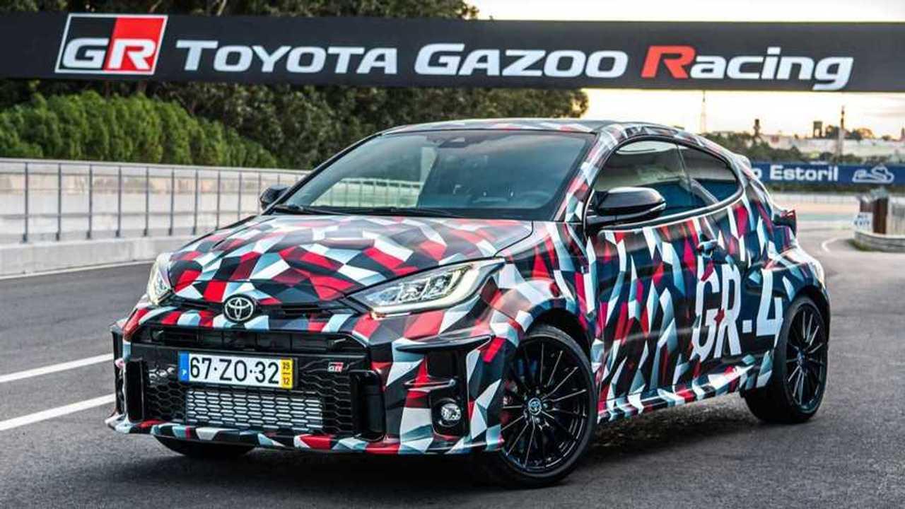 Toyota GR Yaris proto lead