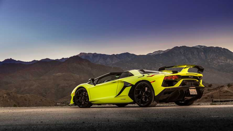 Lamborghini Aventador SVJ Roadster 2020, primera prueba