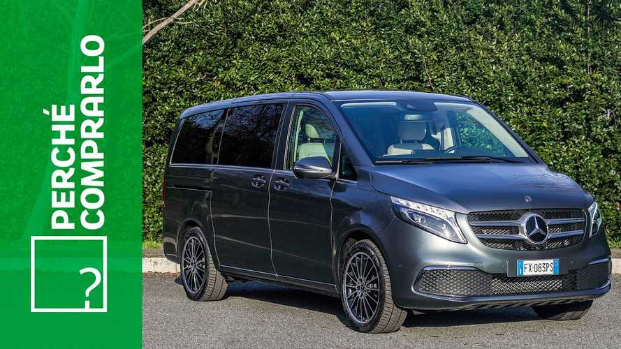 Mercedes Classe V, perché comprarlo... e perché no