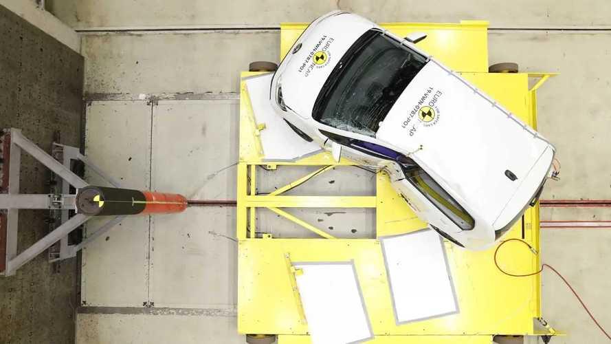Volkswagen Up! (2020), i crash test Euro NCAP