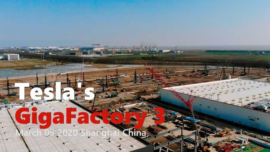 Tesla Gigafactory 3 Construction Progress March 5, 2020: Video