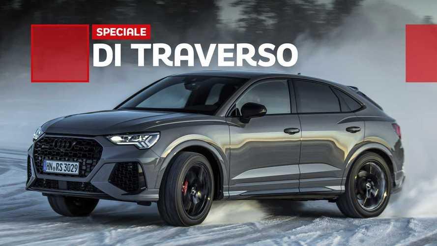 Audi RS Q3, come va sulle nevi svedesi