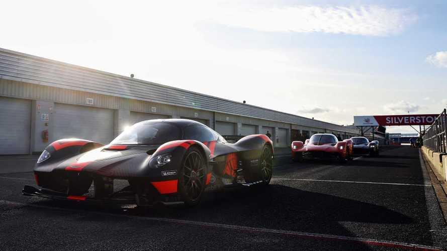 Aston Martin Valkyrie At Silverstone