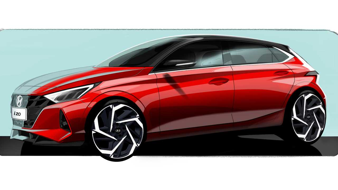 2020 Hyundai i20 teaser image