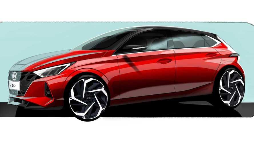Novo Hyundai i20 esboça como poderia ter ficado o HB20
