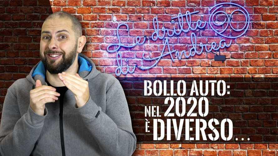 Bollo Auto, cosa cambia nel 2020