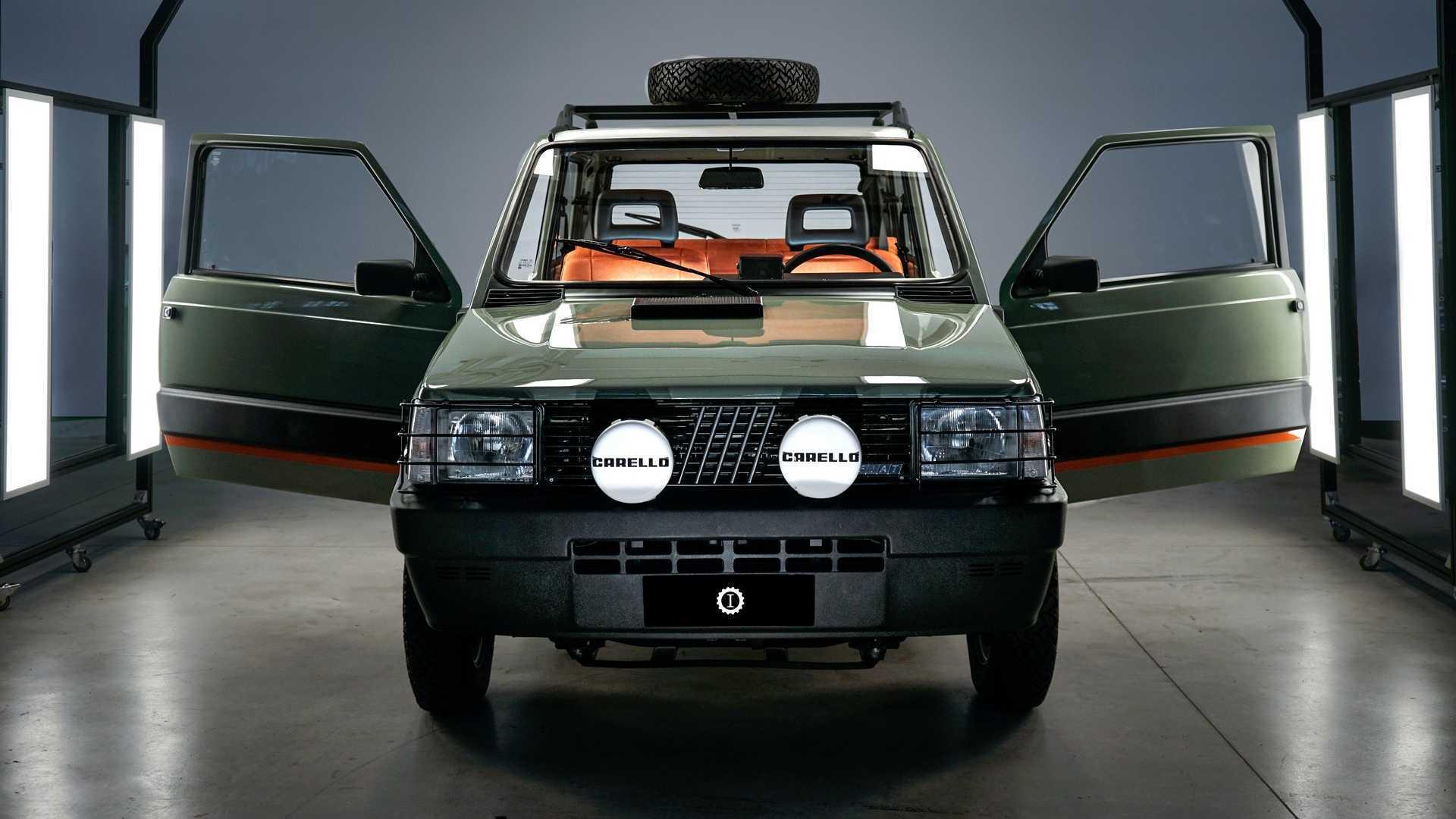 La Fiat Panda 4x4 dedicata a Indiana Jones... diventa elettrica!