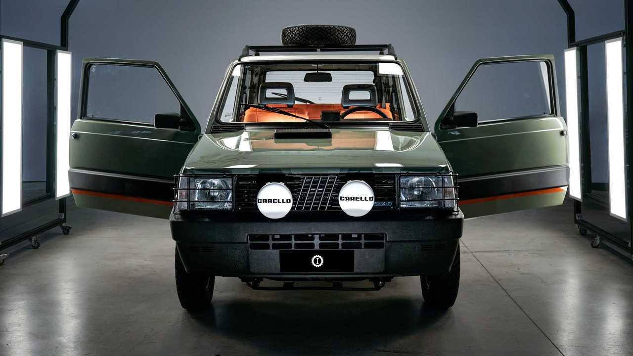Fiat Panda 4x4 Pandino Jones