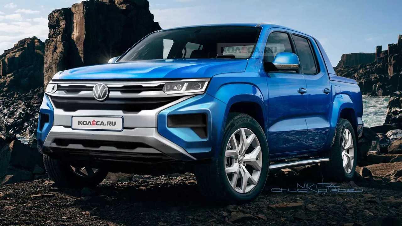 Volkswagen Amarok 2022 - Projeção