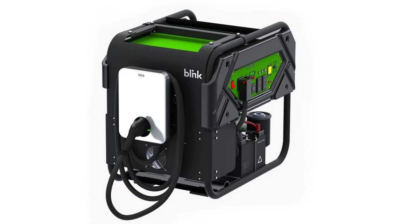 Blink Roadside EVSE