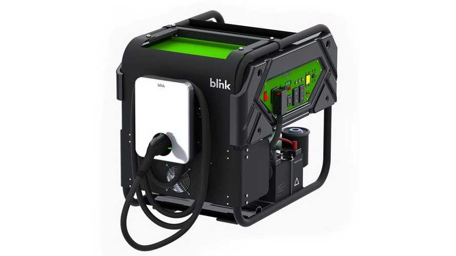 Blink Introduces Mobile Charging Station For Roadside EV Assistance