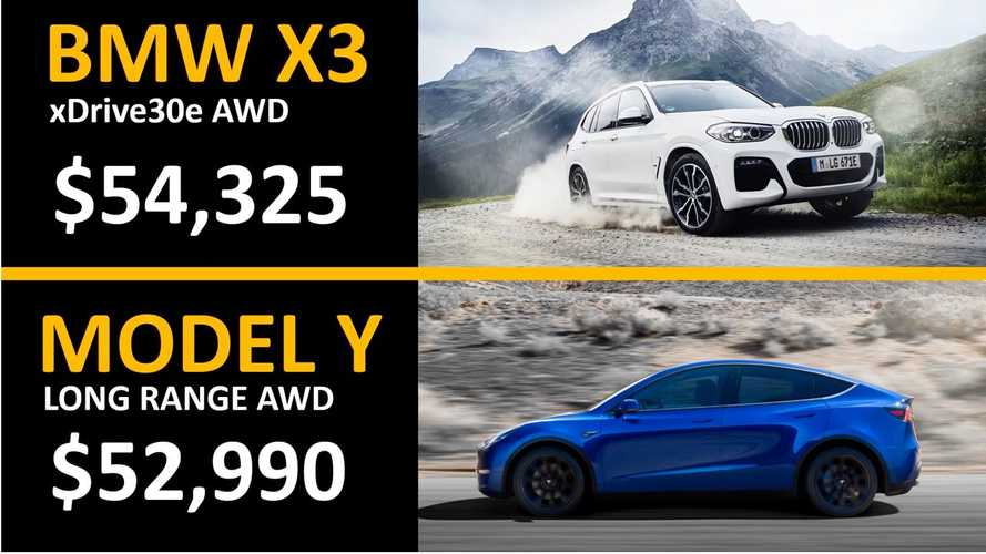 Tesla Model Y Vs BMW X3 Hybrid 5-Year Ownership Cost Comparison