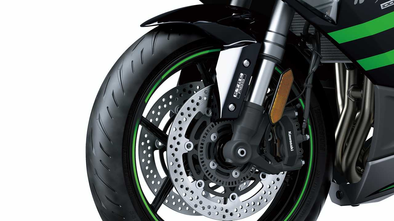 Modern, High-Tech Brakes and Suspension