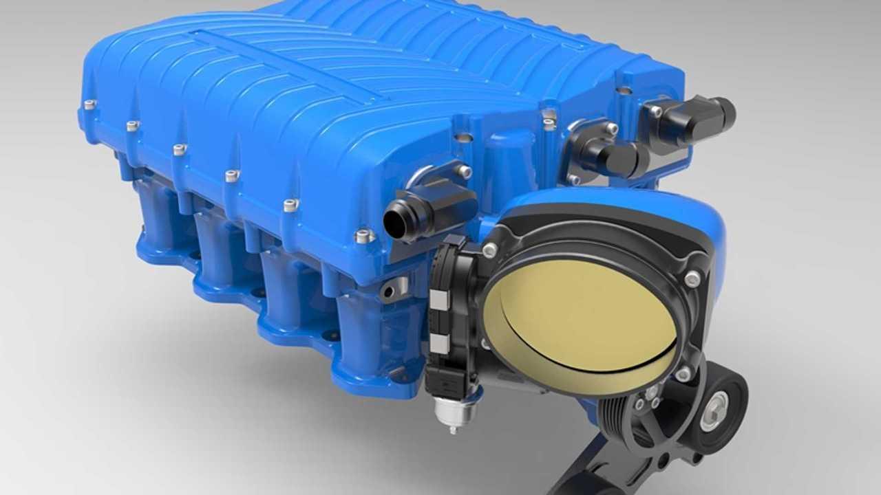 Whipple supercharger kit for Ford's 7.3 V8