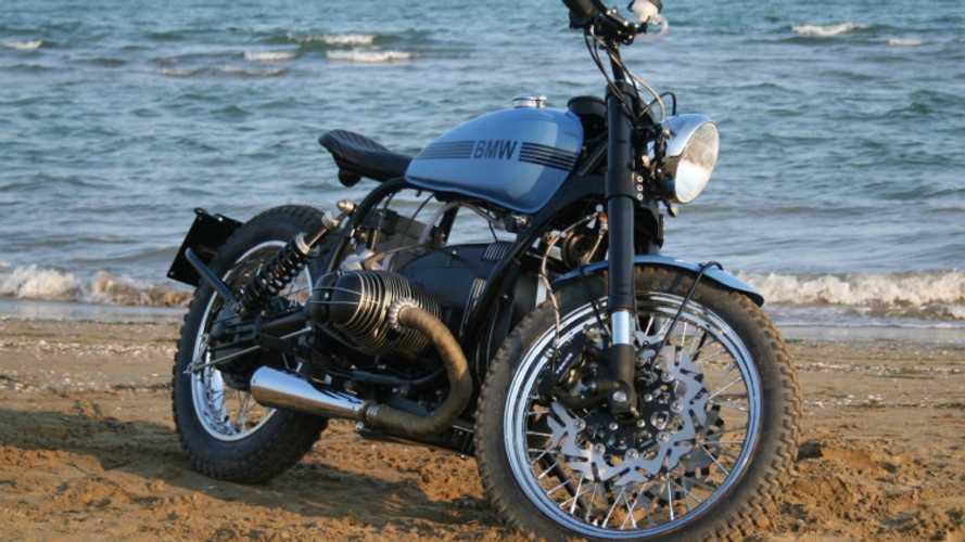 Exotic Blue Beauty: La Motocicletta's Gorgeous Custom BMW R80