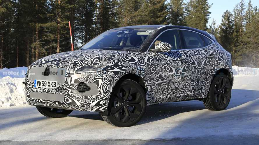 Jaguar E-Pace Facelift Spied During Winter Testing