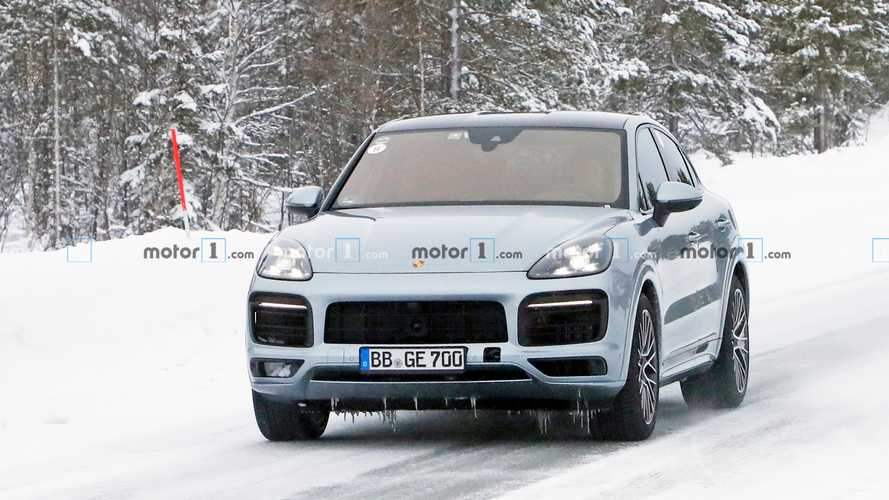 Porsche Cayenne Coupe GT Spy Photos