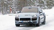 Photos espion Porsche Cayenne Coupe GT - Février 2020