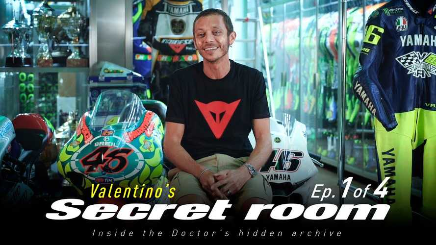 Step Inside Valentino Rossi's Secret Racing Archive