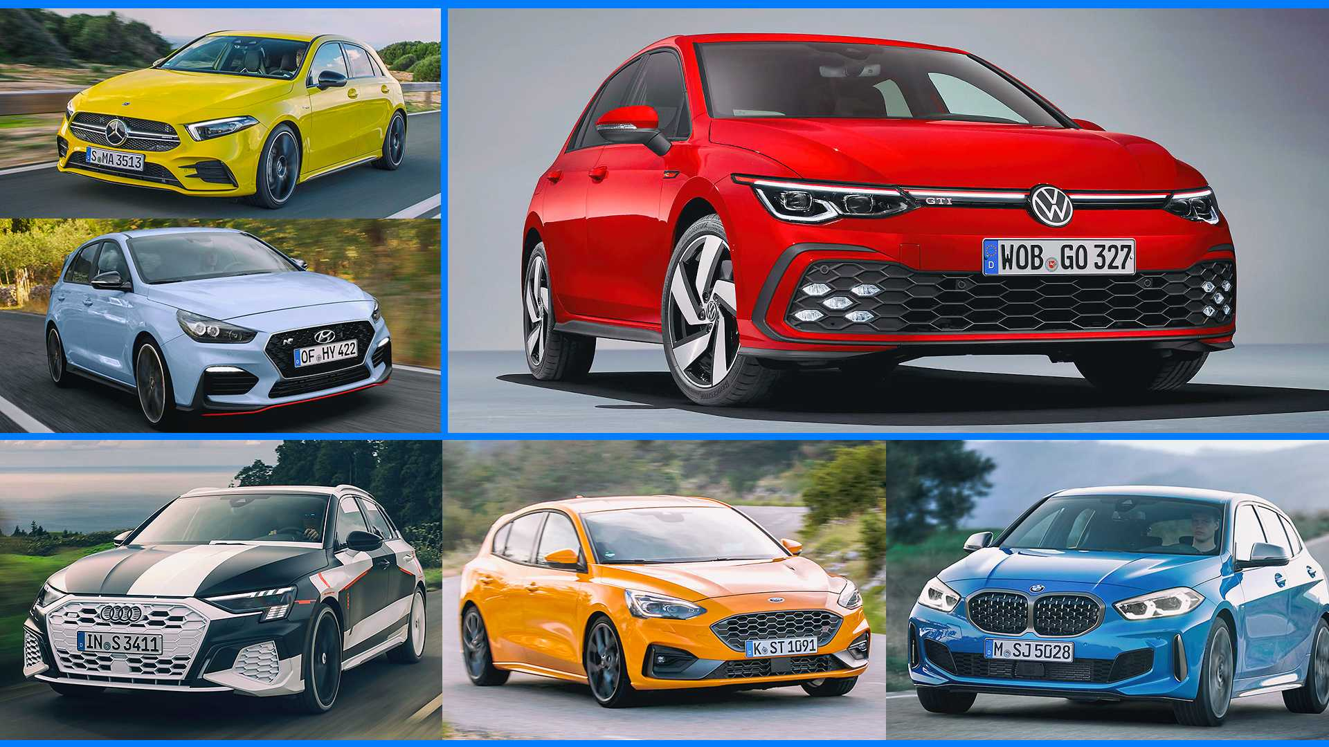 VW Golf GTI (2020) und seine Konkurrenten